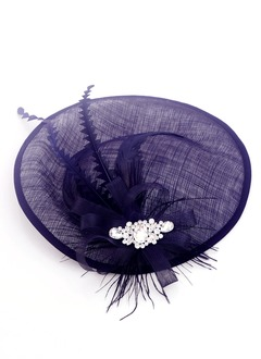 Simple/High Quality Rhinestone/Feather/Cambric Fascinators
