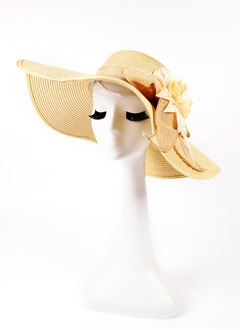 Simple Rattan Straw Hats
