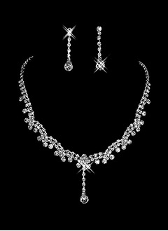 Gorgeous Alloy With Rhinestone Ladies' Jewelry Sets (01105010258)