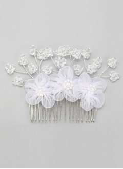 Stylish/Handmade/Charming Crystal/Alloy/Silk Flower Combs & Barrettes