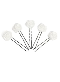 Gorgeous Alloy/Satin Hairpins