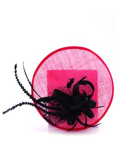 Classic/Elegant Feather/Satin/Cambric Fascinators