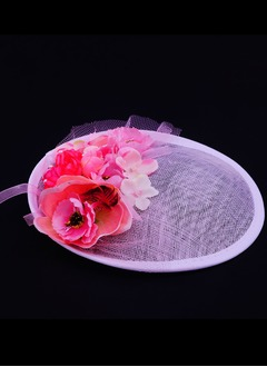 Elegant Silk Flower/Cambric Fascinators