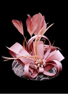 Classic/Exquisite Feather/Satin/Cambric Fascinators (0425103356)