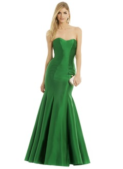 Trumpet/Mermaid Strapless Sweetheart Floor-Length Satin Evening Dress