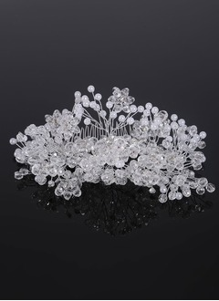 Beautiful/Lovely/Fashion/Special/Shining/Nice/Pretty/Charming Crystal/Rhinestone/Alloy Combs & Barrettes