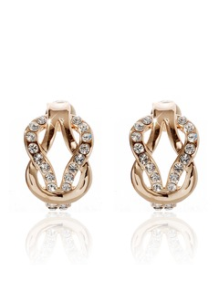 Beautiful Alloy With Rhinestone Ladies' Earrings (01105010804)