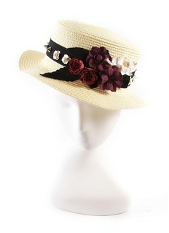 Beautiful/Glamourous Raffia Straw Hats