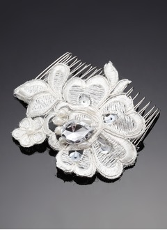Rhinestone/Alloy/Lace Combs & Barrettes