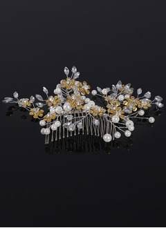 Beautiful/Fashion/Shining/Pretty Rhinestone/Alloy/Imitation Pearls Combs & Barrettes