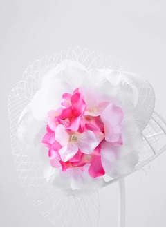 Beautiful/Lovely/Fashion/Pretty/Charming Net Yarn/Silk Flower Headpiece