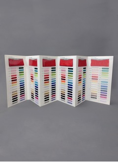 6-Piece Fabric Swatch - 32 Color