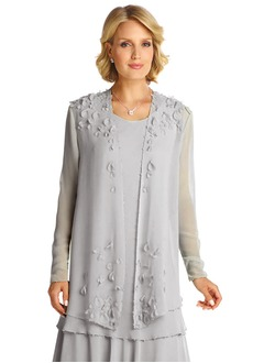 Long Sleeve Chiffon Special Occasion