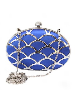 Gorgeous Silk With Metal/Rhinestone Clutches
