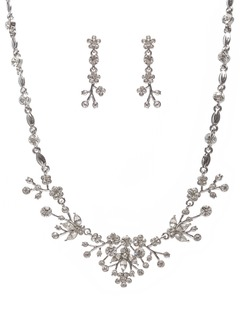 Fashional Alloy With Rhinestone/Crystal Ladies' Jewelry Sets