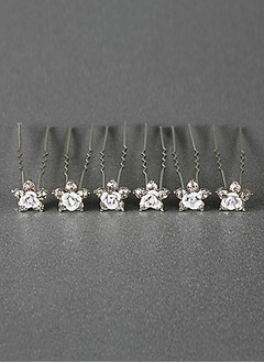 Lovely Crystal/Alloy Hairpins