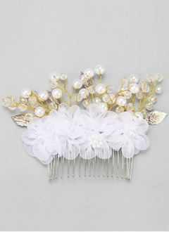 Fashion/Glamourous Alloy/Imitation Pearls Combs & Barrettes