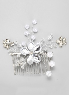 Eye-catching/Charming Rhinestone/Alloy Combs & Barrettes