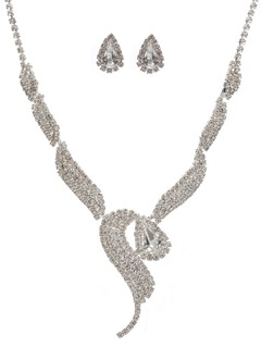 Gorgeous Alloy With Rhinestone Ladies' Jewelry Sets (01105011015)