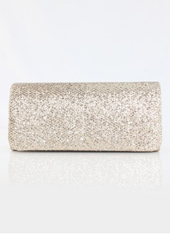 Fashional Silk/Sparkling Glitter With Glitter Clutches (0125093777)