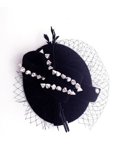 Net Yarn/Wool Fascinators