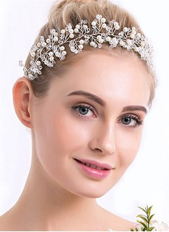Beautiful/Lovely/Fashion/Nice/Pretty/Charming Crystal/Imitation Pearls Headpiece