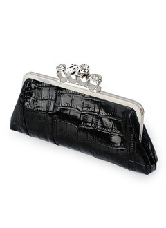 Fashional Crystal/ Rhinestone/PU With Crystal/ Rhinestone Clutches/Cross-Body Bags/Shoulder Bags