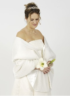 Charmeuse Velvet Wedding Shawl