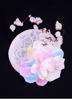 Gorgeous/Special Silk Flower/Cambric Fascinators
