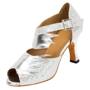 Women's Heels Jazz With Ankle Strap Dance Shoes